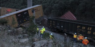 Union Pacific train cars derail north of Pollard Flat; Amtrak to use buses