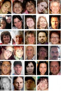 Lac Megantic - Faces