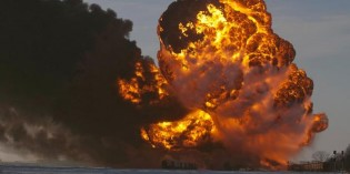 More oil spilled from trains in 2013 than in previous 4 decades