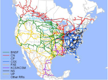 AAR Report Moving Crude Oil By Rail The DOT READER - Oil production map us