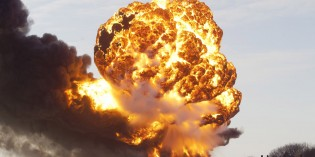 Train Derailment Causes Fiery Destruction In Casselton, ND