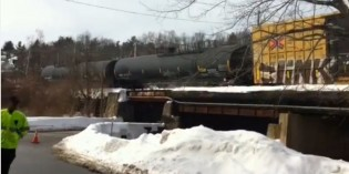Train carrying liquefied petroleum gas derails in Westford