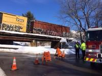 DEP worried about potential threats at train derailment site