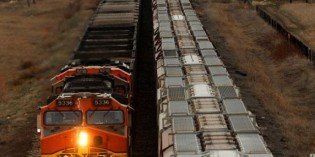 Grain trains delayed by weather, construction, oil