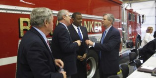 Federal Transportation secretary discusses rail safety efforts