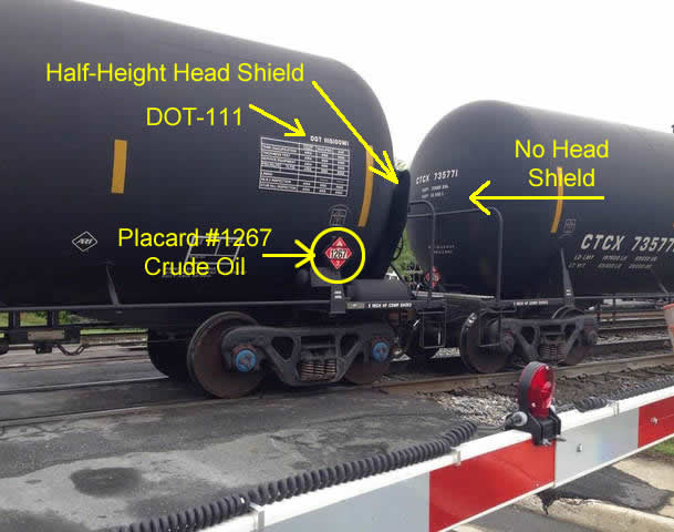 Crude Oil Is Being Transported Across North America In Tanker Cars That Aren U0026 39 T Designed For Oil