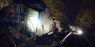 CSX train carrying about 8,000 tons of coal derails in Bowie