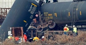 Report finds health issues after NJ train derailment chemical release