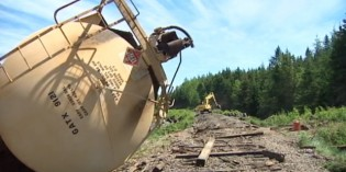 Pictou County train derailment cleanup begins