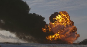 Fiery Oil-Train Derailments Prompt Calls For Less Flammable Oil