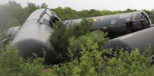 No leaks, public safety issues in 24-car derailment