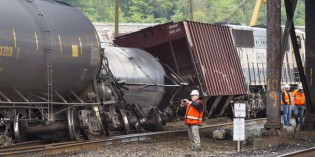 Derailment intensifies concerns over oil transport through state