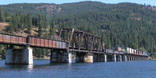 BNSF Plans New Rail Bridge over Lake Pend Oreille in North Idaho