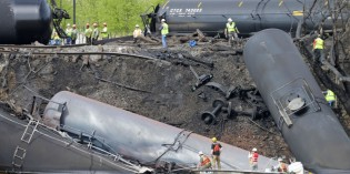 Oil train wrecks prompt scrutiny