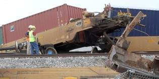 Dozens of Railcars Derail From Train in Arizona