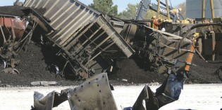 Coal train derails, spills contents in York County