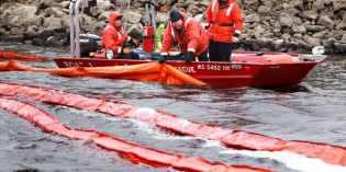 Emergency responders prepare for real-world disaster in mock river spill