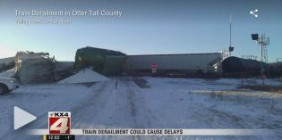 Train Derailment in Otter Tail County Minnesota