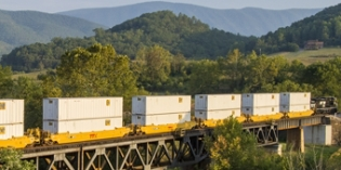 North American freight rail gains continue