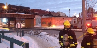 No leaks or injuries in downtown Winnipeg train derailment