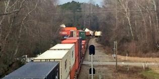 Road to Re-Open After Train Derailment, Investigation Continues