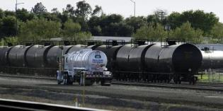 Another oil train derails, ignites fire in Canada