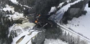 Canadian National says fire out at Ontario derailment site