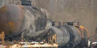 Soil Disposal Work Continues At Train Derailment Site