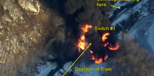 DOT-111 Reader Exclusive: Galena Derailment Near Switch