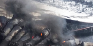 CN crude oil train derailment in Gogama, Ont., 'very concerning,' transportation minister says