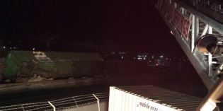 Train Derailment in Colorado Springs