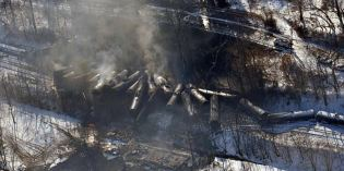 Can lower speeds prevent crude oil train derailments?