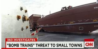 Oil tankers: Danger on the rails