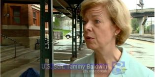 Sen. Baldwin promotes newly proposed legislation for railway safety