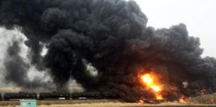 Oil train derails, catches fire in central North Dakota, prompting evacuation of small town