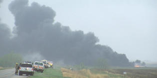 Responders learn lessons from Heimdal, ND train derailment