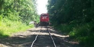 Winnebago County Sheriff's Department Responds to Train Derailment in New Milford