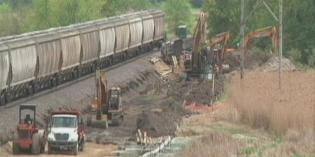 Judge delays decision on halting BNSF construction