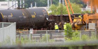 Four cars derail in CSX yard near Elsmere