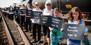 Blocking the Bomb Trains: Nationwide Protests On Lac-Megantic Anniversary