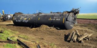 Officials: Oil train didn't speed before Montana derailment