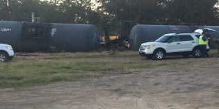 Train carrying sulfuric acid derails in Big Sandy