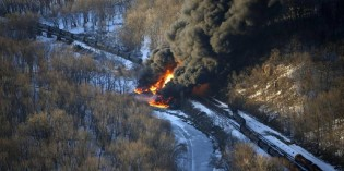 House bill could shield oil train spill response plans from disclosure