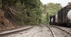 Authorities respond to 'partial' train derailment near Lynchburg riverfront