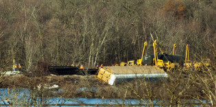 Derailment cleanup continues in Alma; long-term environmental impacts unlikely