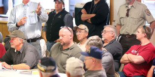 Rail meetings draw ire over lost river access
