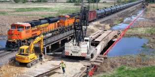 Judge says BNSF permits valid for La Crosse River marsh expansion