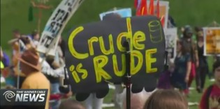 Protest Against Crude Oil Trains Brings Thousands to Capital Region