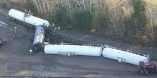 Union Pacific Cars Derail Near Superior