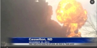 Three years after Casselton explosion, are crude oil trains safer?